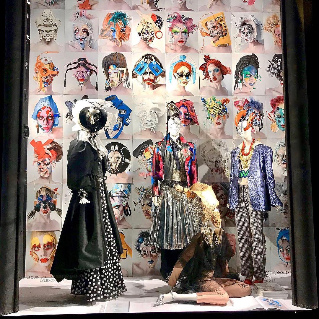 83f276262e5 The windows were part of a celebration of the Lyle XOX  Head of Design book  release by Rizzoli New York. The visuals team at Bergdorf Goodman did an  amazing ...
