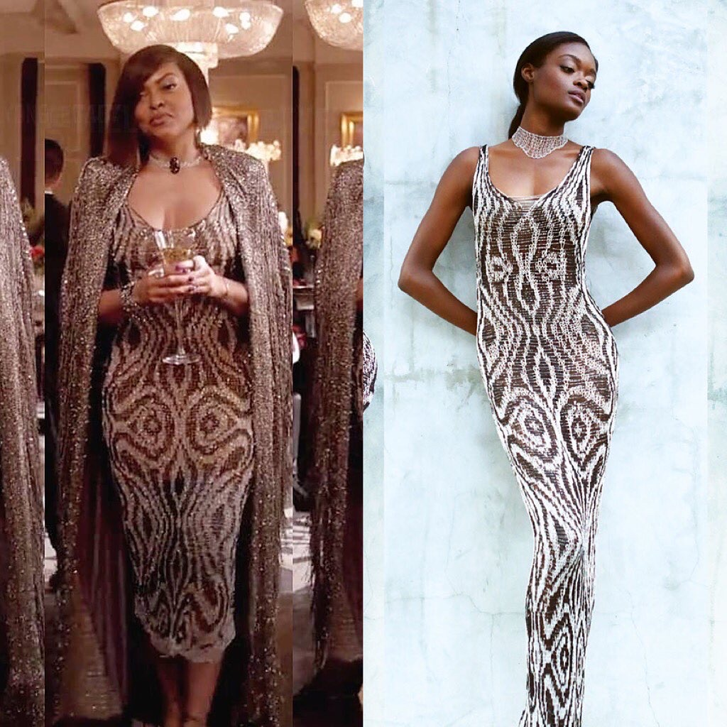 Taraji P Henson Cookie from Empire wears Natalia Fedner